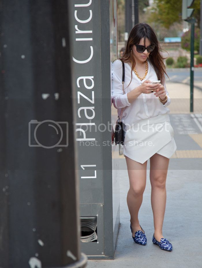 StreetStyle White Skirt