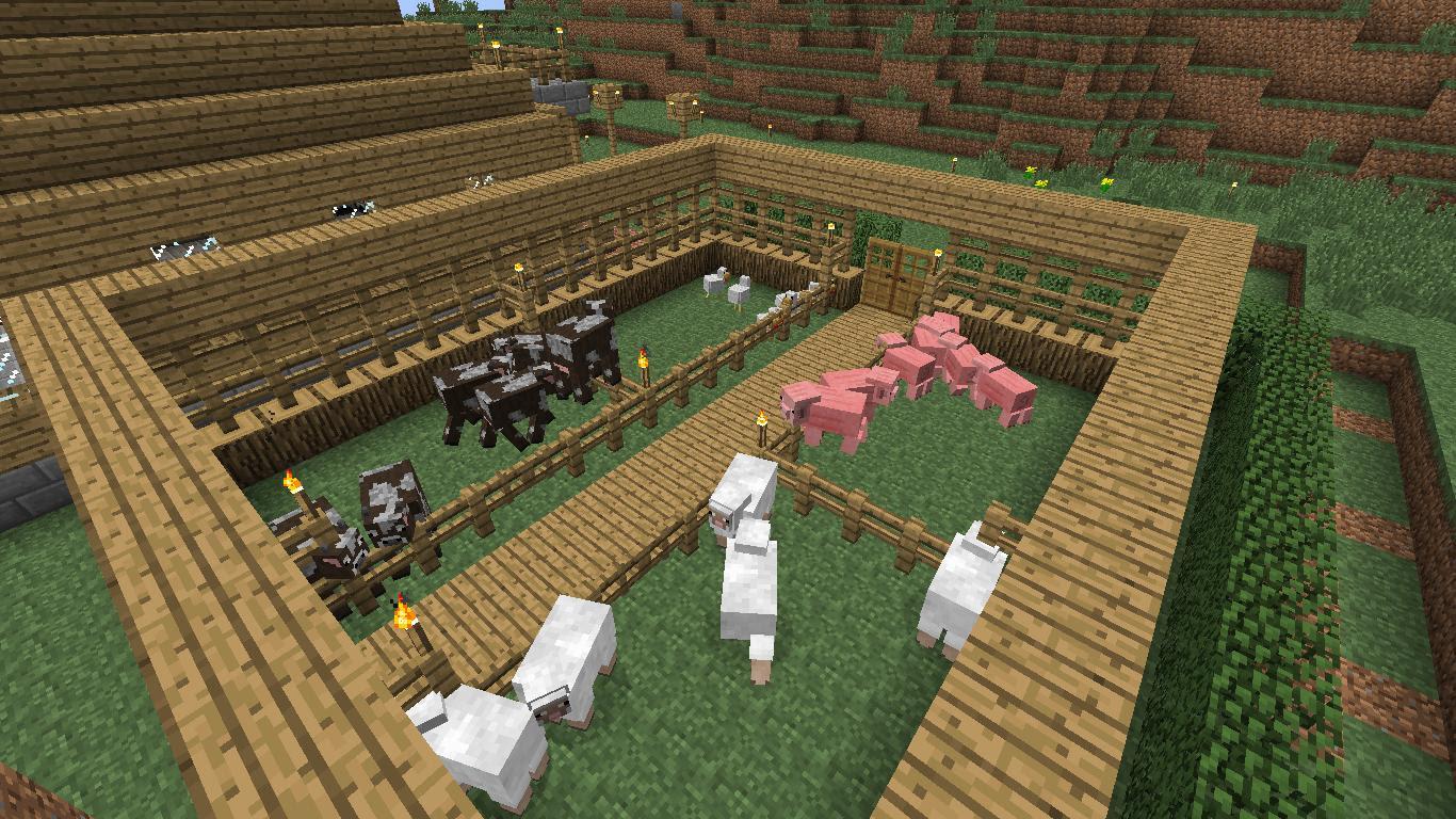как в майнкрафте сделать ферму #9