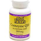 Natural Factors Coenzyme Q10, 200 mg, Softgels - 60 count