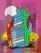 Artist  Singh - Skyline 4