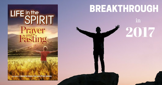 Make 2017 the year of breakthrough with our free Prayer & Fasting ebook