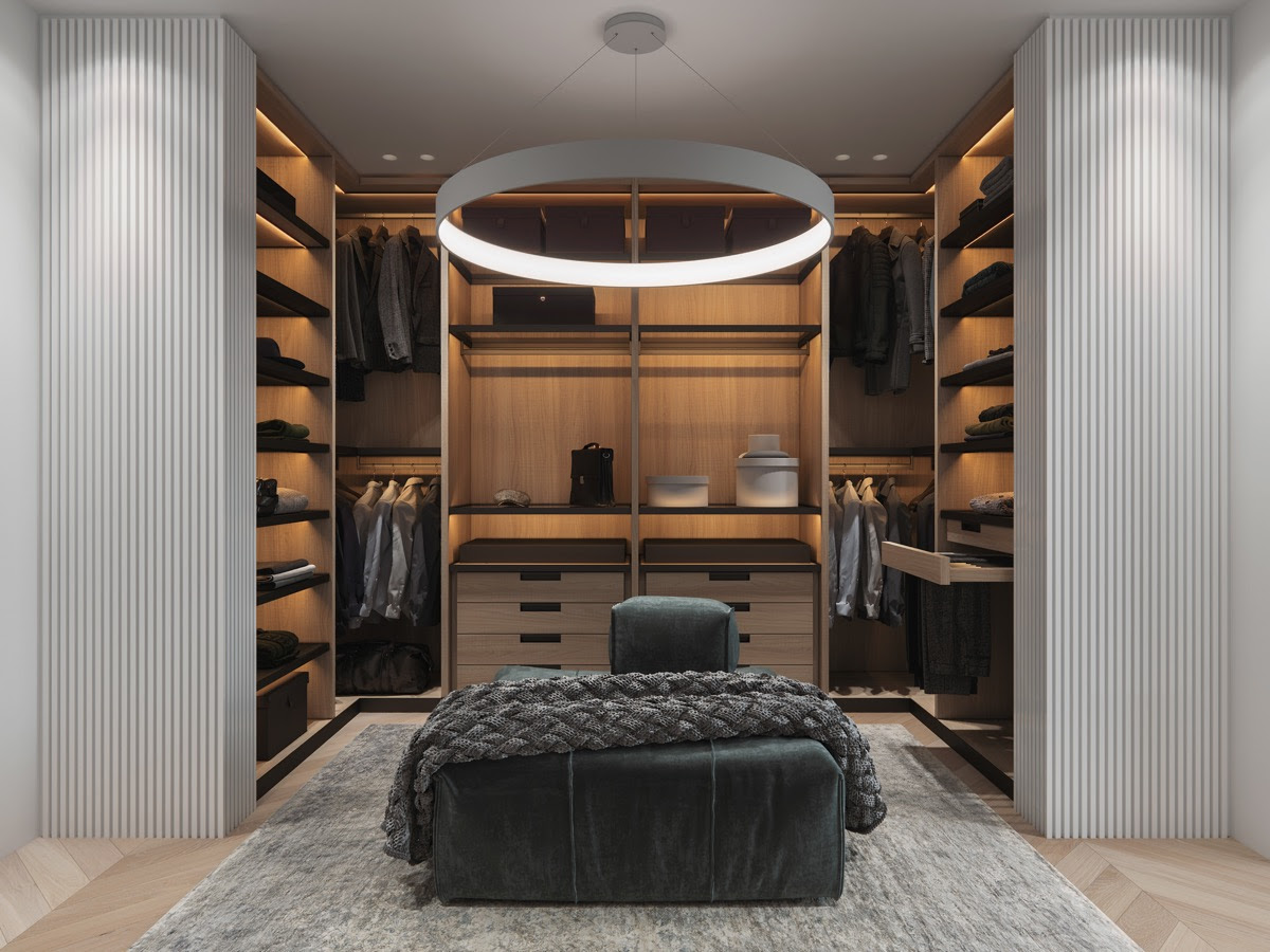 26 Walk In Wardrobes That Will Give You Deep Closet Envy