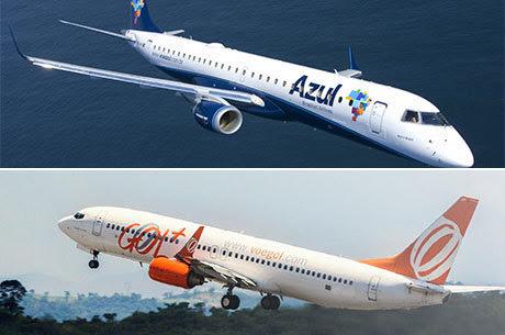 Gol desiste de operar voos em Sinop e Azul cancela voo entre Sinop e Campinas