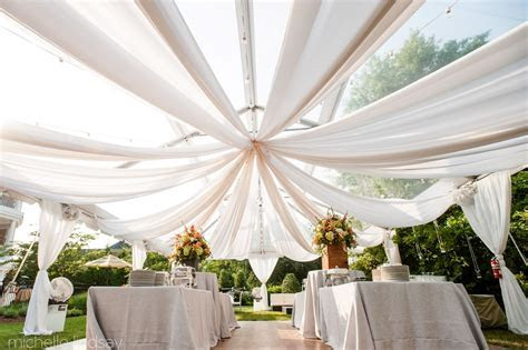 home wedding tent advice