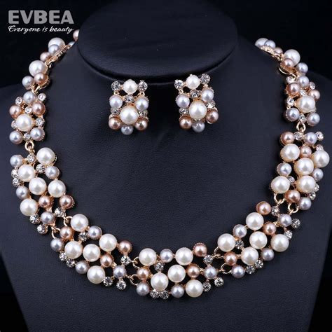 2019 ! Pearl Jewelry Sets Elegant Popular Fashion Designer