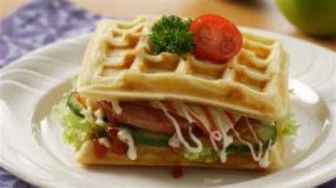 resep sandwich wafel kentang tribun timur