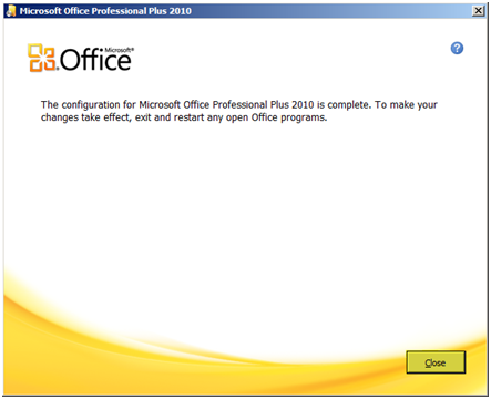 Tech of the town how to change an office 2010 license - How to change ms office 2010 product key ...