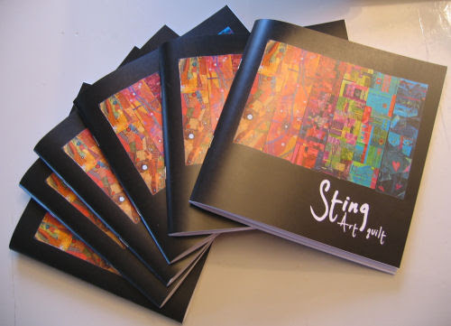 the booklet from Sting Art Quilt :: Sting Art Quilts kunsthefte