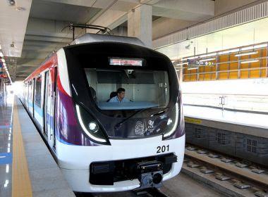 Metrô deve levar população até aeroporto de Salvador a partir de março, diz Rui