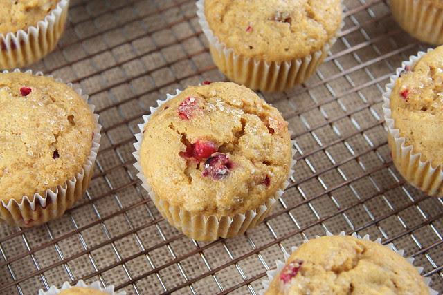 Pumpkin Cranberry Muffins