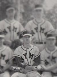 Donald Trump High School Baseball Team Captain