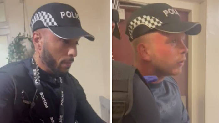 Police hunt fake cops with handcuffs & batons who demanded to search woman's home