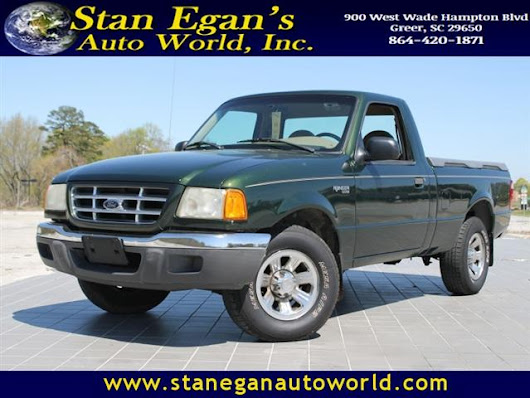 Used 2001 Ford Ranger for Sale in Greer SC 29650 Stan Egan's Auto World