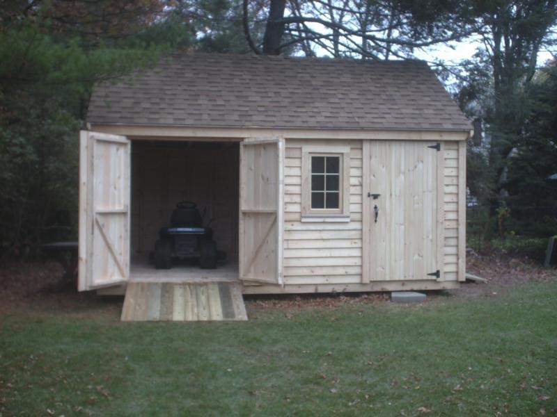 Garage With Storage Free Materials List: 12x16 Shed Plans Materials List