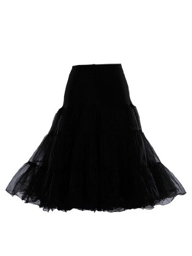 artwedding jupon de mariage jupe en tulle et nylon noir. Black Bedroom Furniture Sets. Home Design Ideas