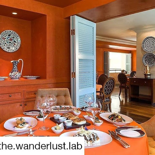 #Repost @the.wanderlust.lab We loved the heartwarming decor of Osmanly Restaurant at Kempinski Nile,...