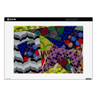 15 Inch Laptop Skin with Multi-Patterned Design