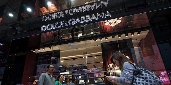 a734a9fbef90 Dolce Gabbana goods pulled in China over alleged insults. Dolce Gabbana  goods disappeared Thursday from Chinese e-commerce sites ...