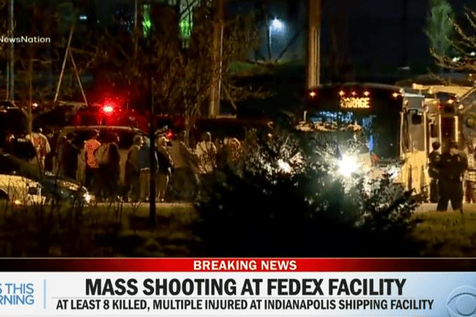 Atirador mata 8 pessoas em centro de operações da FedEx nos EUA