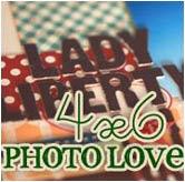 4x6 photo love