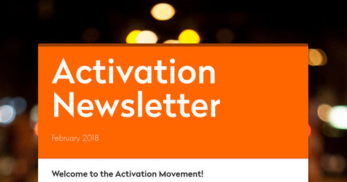 Activation Newsletter