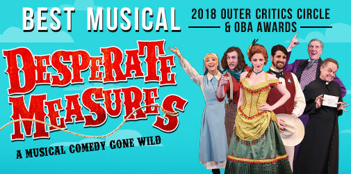 Desperate Measures: A Musical Comedy of Errors You'll Love!