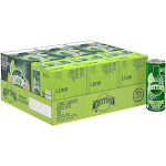 Perrier Sparkling Natural Mineral Water, Lime, Slim Can - 30 pack, 8.45 fl oz cans