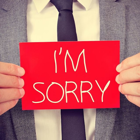 Why Sorry is the Badest Word…