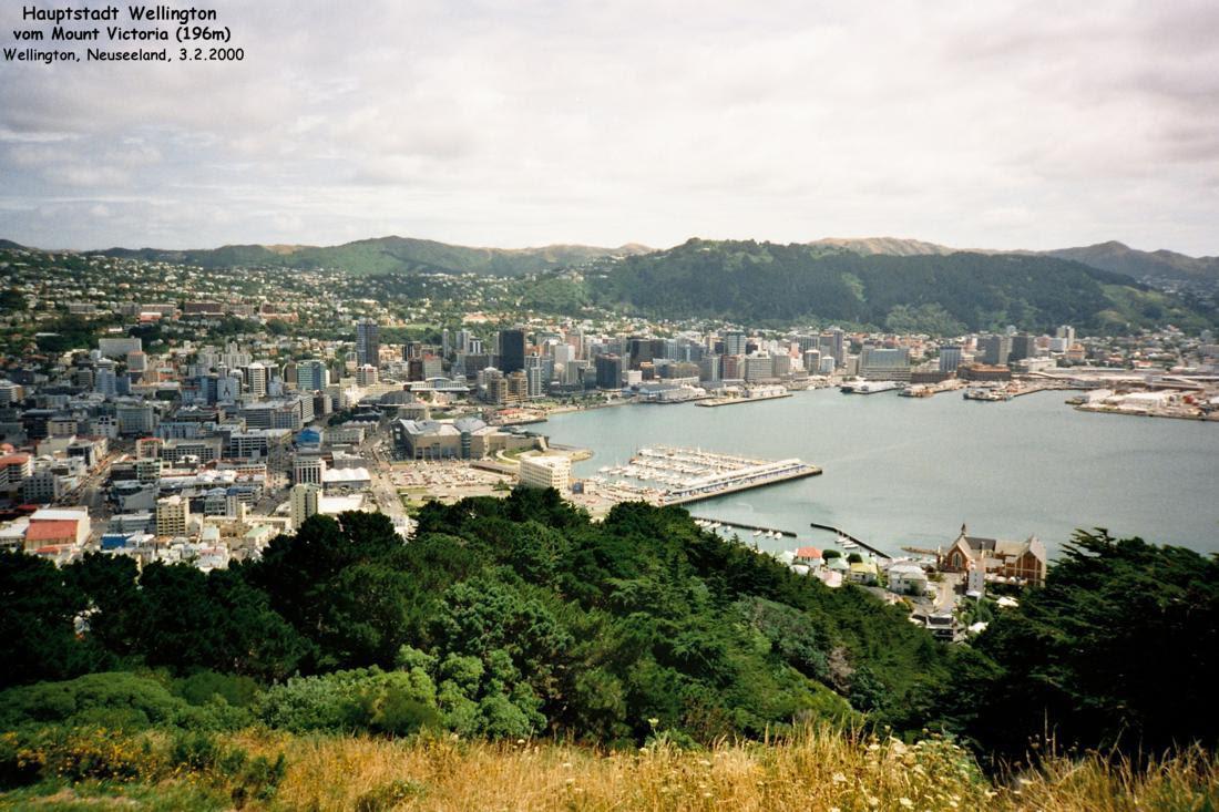 Wellington - Hauptstadt von Neuseeland (Nordinsel ...