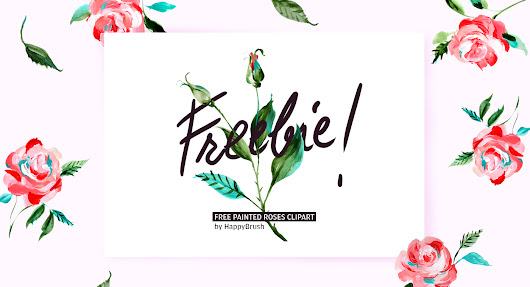 Free Roses and Leaves Clip Art | Design Share