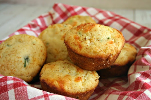 Mexican Cornbread Muffins - Life, Love, and Good Food