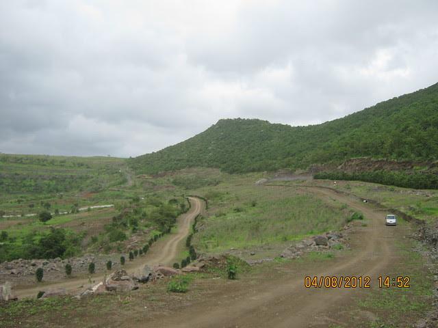 Cut, Demolished & Destroyed Hill of XRBIA Hinjewadi Pune - Nere Dattawadi, on Marunji Road, approx 7 kms from KPIT Cummins at Hinjewadi IT Park - 96