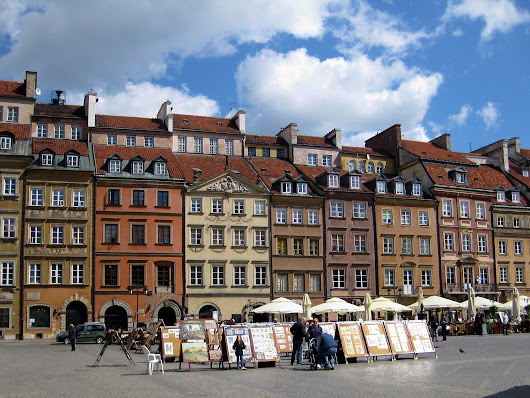 One Day, One Place: Once-gray Warsaw enjoys newfound zing