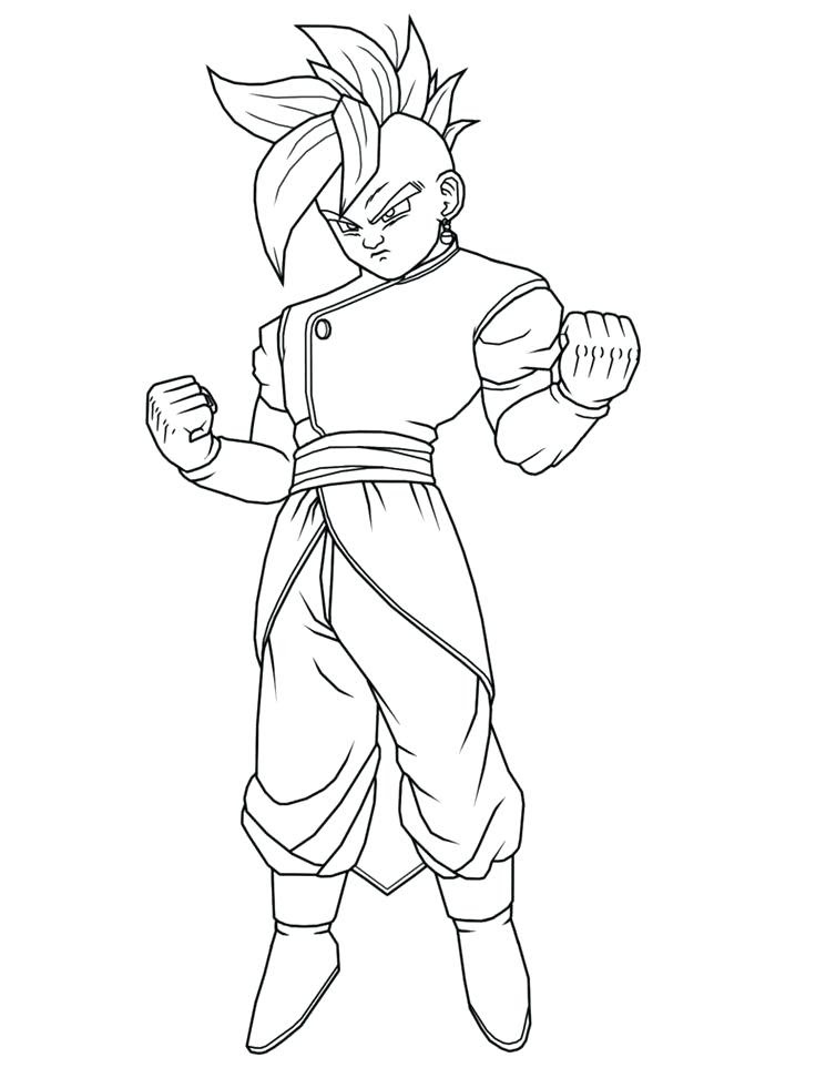 The Best Free Dragonball Coloring Page Images Download From 35 Free
