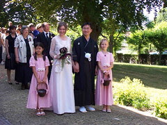 Ken and Elizabeth's wedding