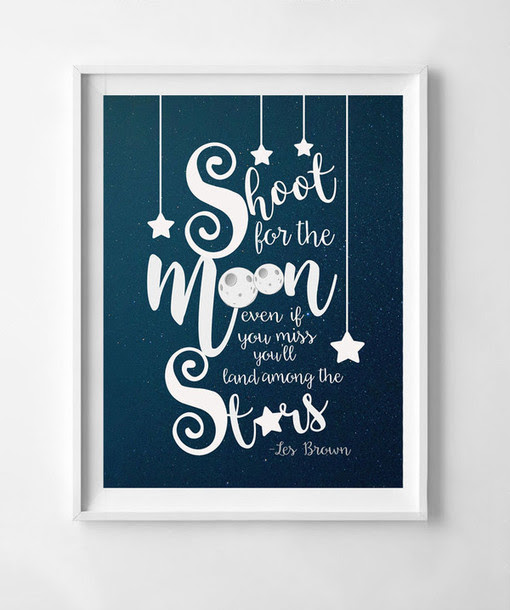 Home Accessory Moon And Stars Nursery Moon And Star Celestial