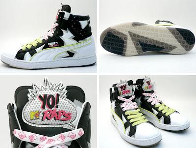 YO! MTV Raps x Puma First Round B4 sneakers