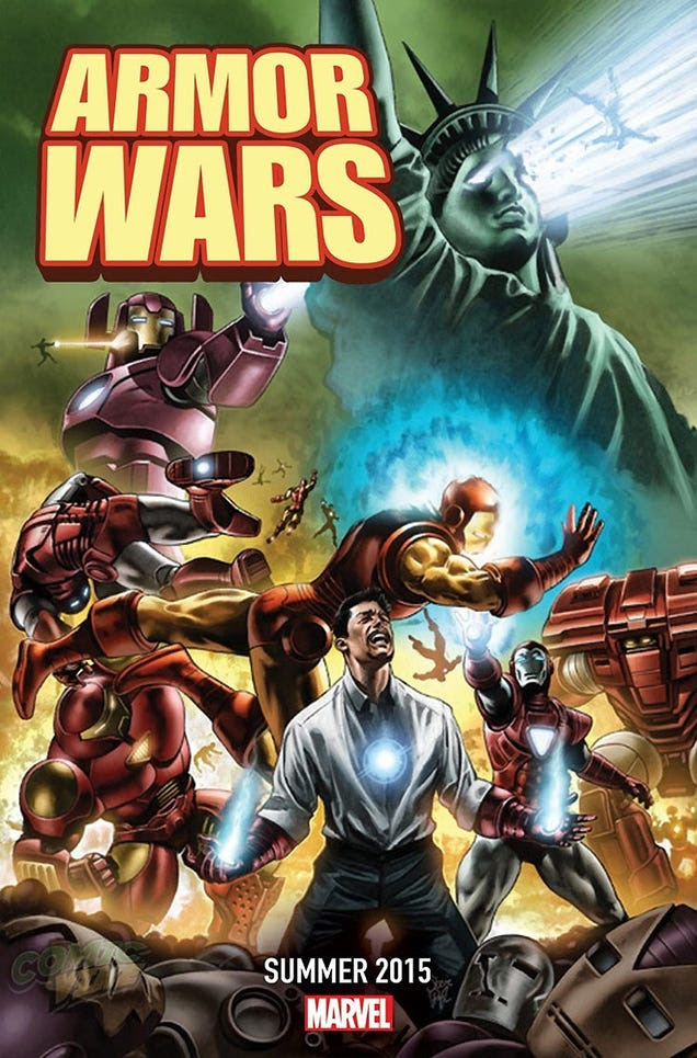 Marvel Comics Is Redoing Armor Wars, Starring Galactus-Buster Iron Man