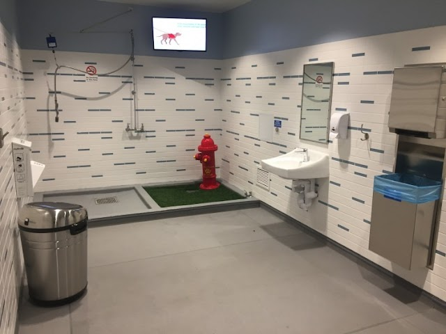 Airport Bathrooms for Dogs