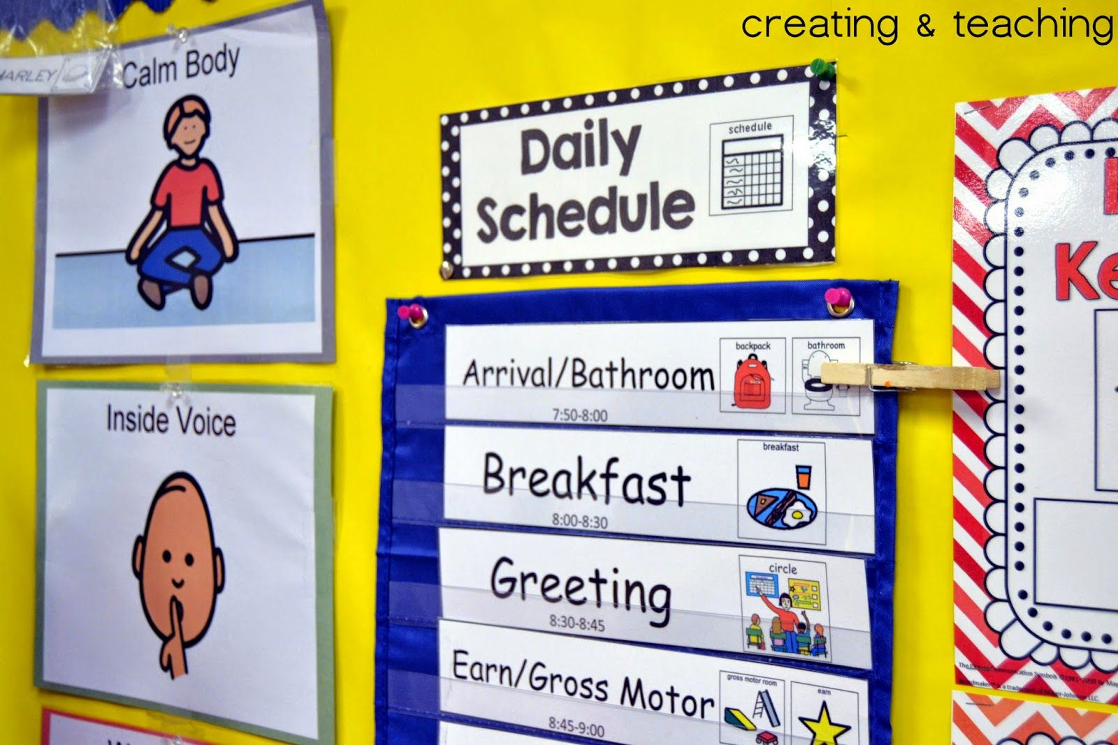 Daily Schedule For Autism Classroom | Daily Agenda Calendar