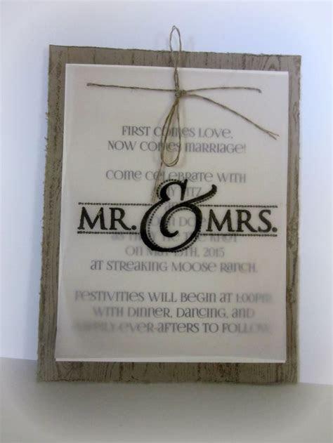 25  best ideas about Handmade wedding invitations on