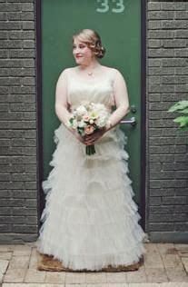 Best 25  Ruffle wedding dresses ideas on Pinterest