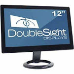 Doublesight Displays 12in Smart HDMI Monitor 1633x768 5v DC Power 3YR TAA