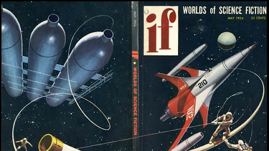 The Entire Run Of IF Magazine Is Now Freely Available Online!