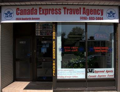 Canada Express Travel Agency Inc. | Danforth Village BIA