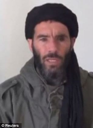 Terror chief: Mokhtar Belmokhtar, identified by the Algerian interior ministry as the leader of a militant Islamic group