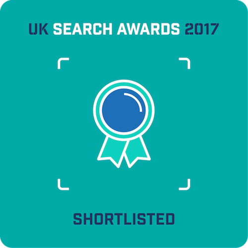 Polemic Digital shortlisted for two 2017 UK Search Awards | Polemic Digital