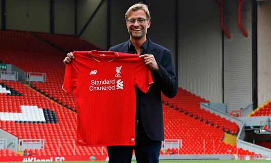 I'm the Normal One: Jürgen Klopp unveiled as Liverpool's new manager | Football | The Guardian