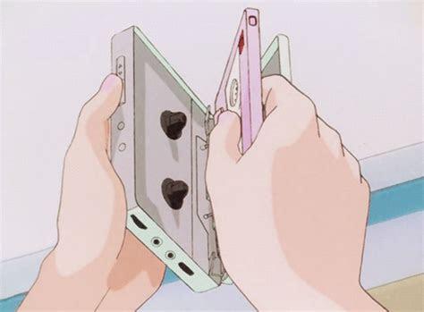 anime walkman retro kawaii aesthetics arte de