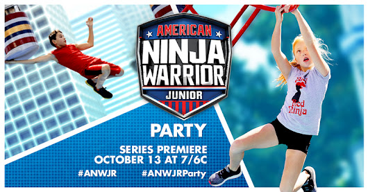 You've got to check out American Ninja Warrior Junior's American Ninja Warrior Junior Party event on Ripple Street!